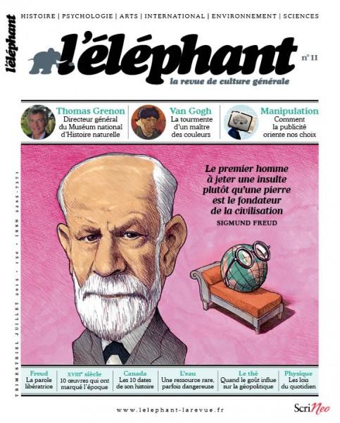 couverture l'éléphant numéro 11