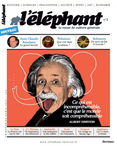 couverture l'éléphant numéro 2