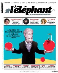 couverture l'éléphant numéro 8