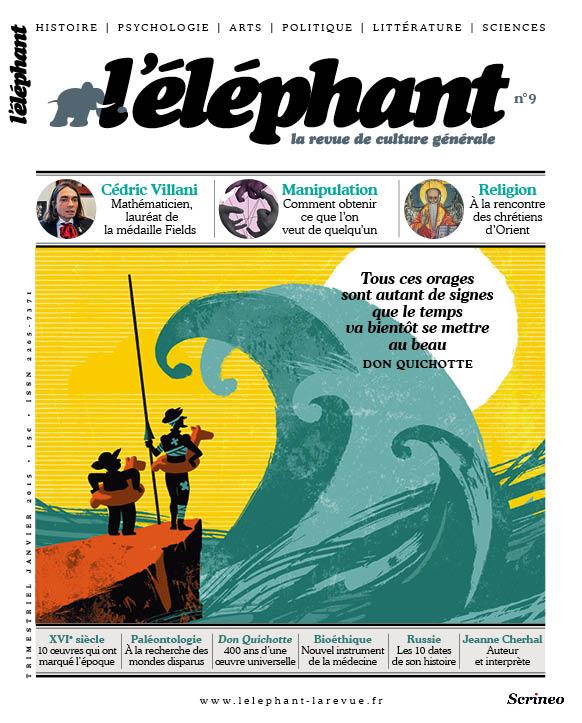 couverture l'éléphant n°9