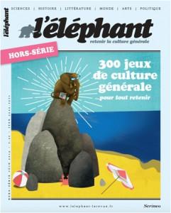 couverture l'élephant Hors-série jeux