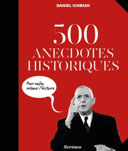 Couverture 500 anecdotes