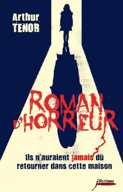 couverture roman d'horreur tome 1
