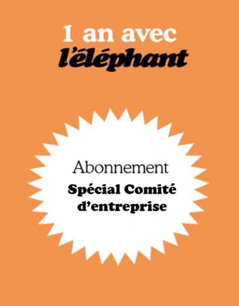 L'éléphant abonnement spécial CE
